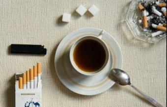 Курение на голодный желудок