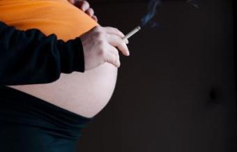 Влияние никотина на плод