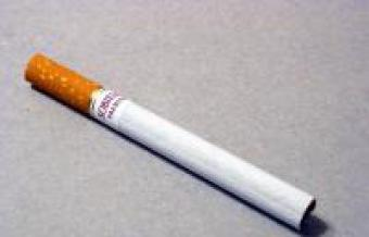 выкуренная сигарета