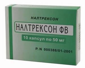 Капсулы Налтрексон