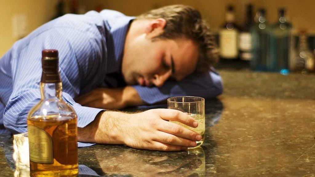 Симптомы алкогольной деградации