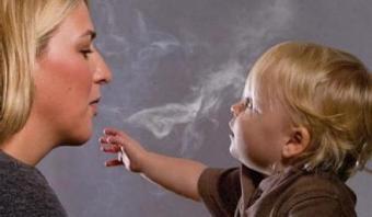 Грудное вскармливание и курение