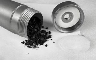 Угольная колона для очистки и ее изготовление
