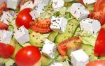 Для здорового похудения салат Молодость