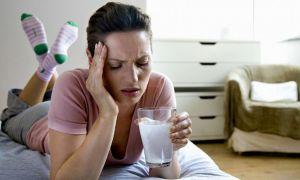 Стоит ли употреблять молоко с похмелья