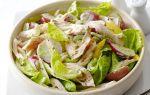 Лучшие белковые салаты с курицей для позднего ужина