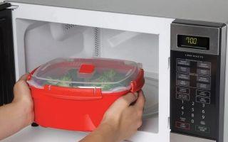 Какие контейнеры для еды безопасны в микроволновке