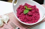 Польза салата из свеклы и чеснока