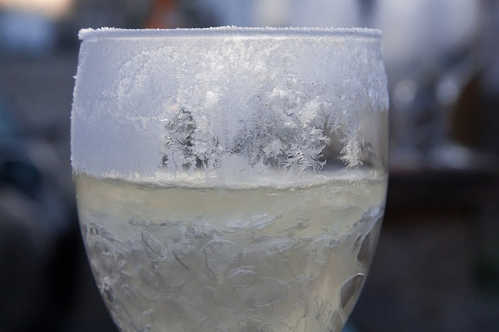 чистка морозом