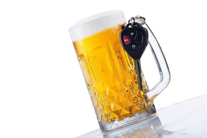 ключи и пиво