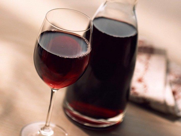сухое вино дома