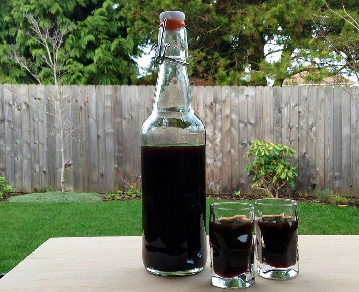 водка на черносливе
