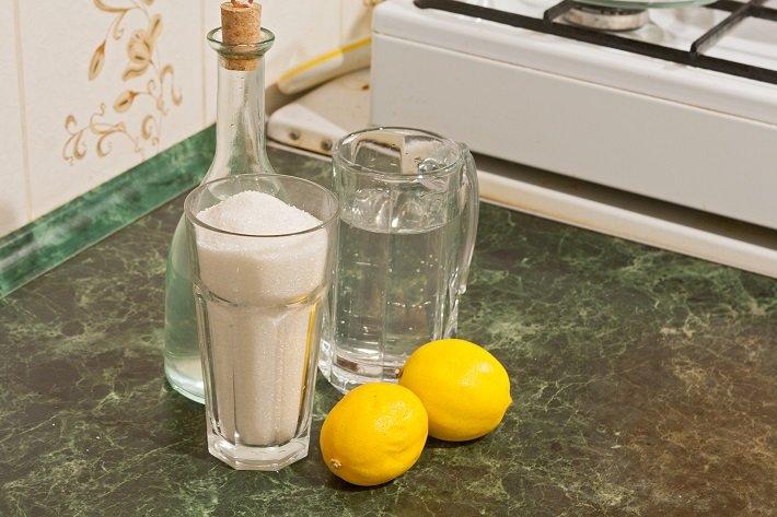 водка на лимонах