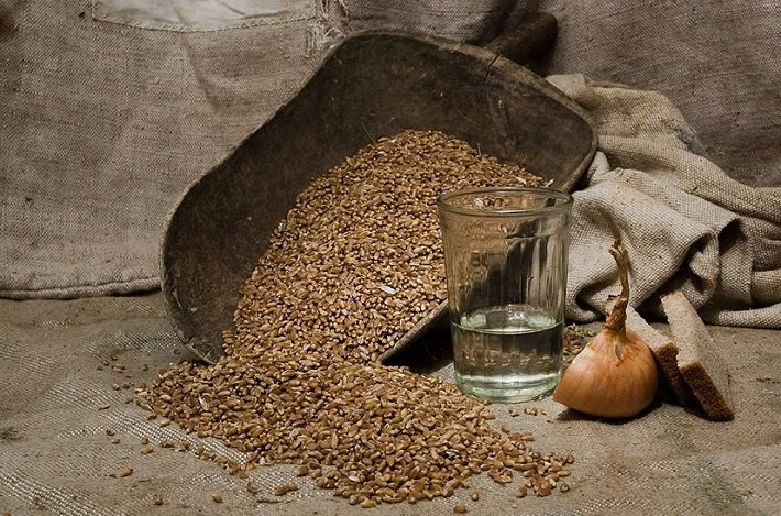 самогон из зерна