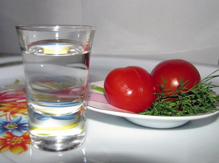 водка и закуска