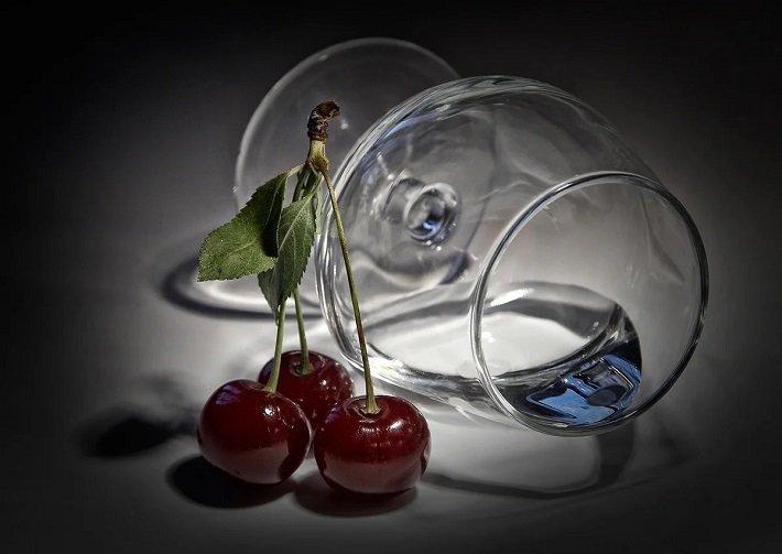 водка на вишне