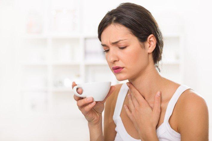 сухость при простуде