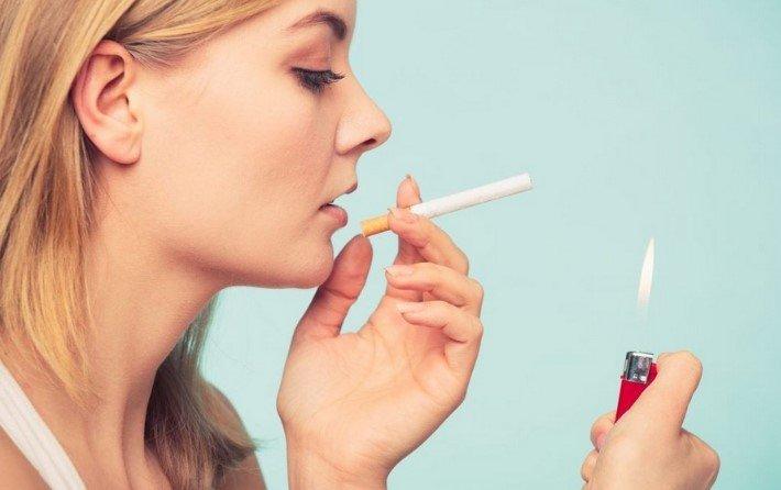 сигареты и женщина