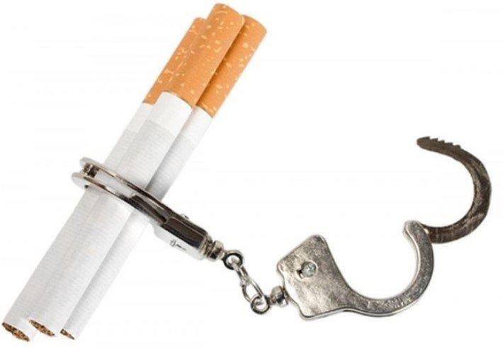 зависимости от табака