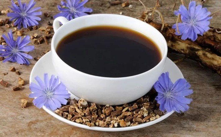 чай с цикорием