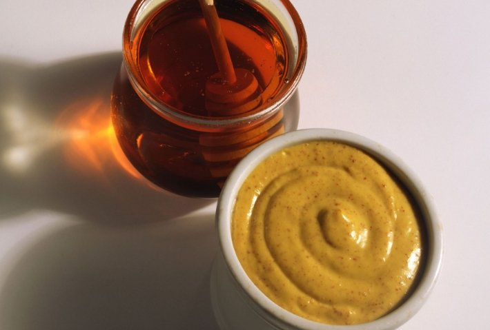 мед и горчица