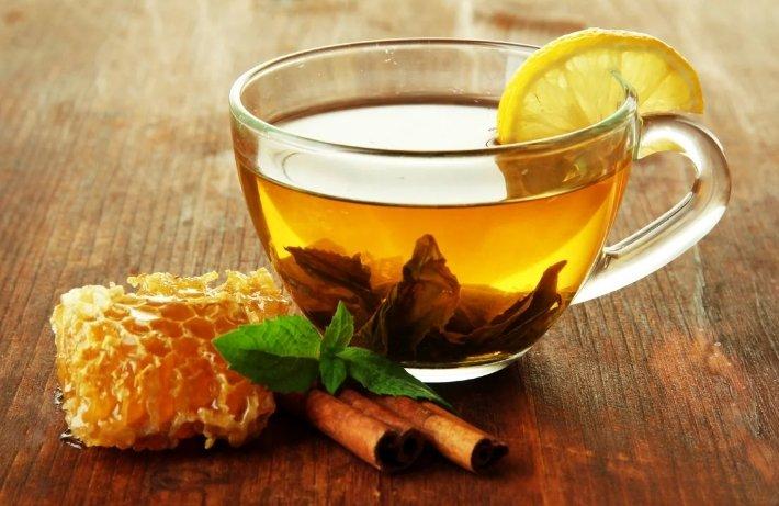 мед и мята