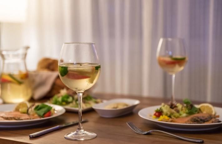 вино на обед