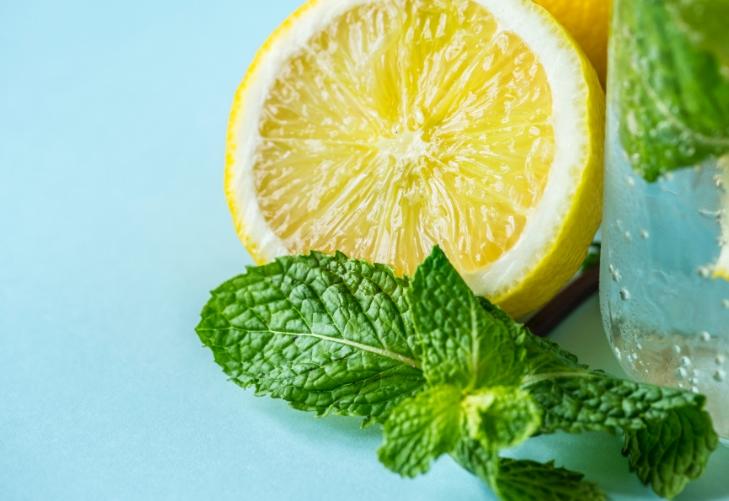 лимоны и мята