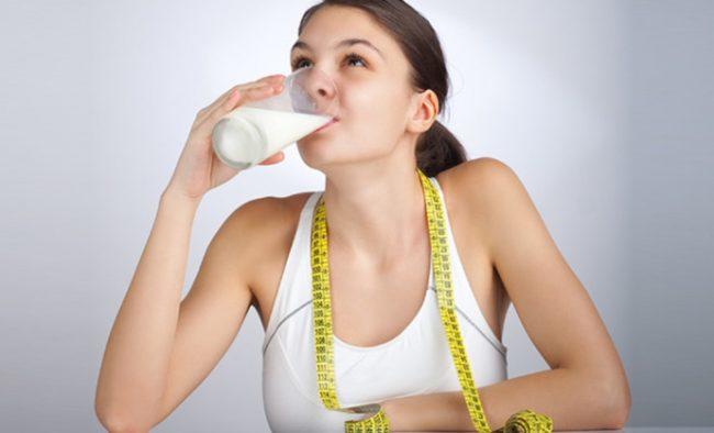 Молоко — ешь и худей:  польза или вред