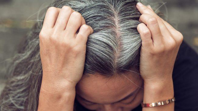 Старение волос